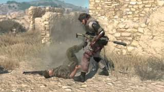 getlinkyoutube.com-Metal Gear Solid 5 Phantom Pain All CQC Animation