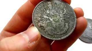 getlinkyoutube.com-Antique Silver Coins Found at Garage Sale!!!