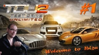 getlinkyoutube.com-Test Drive Unlimited 2   Let's play #1: Welcome to Ibiza ! [G27]