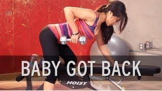 getlinkyoutube.com-How to Lose Back Fat
