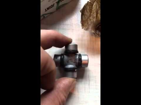 Замена крестовины рулевого карданчика Lexus RX 300 часть 2