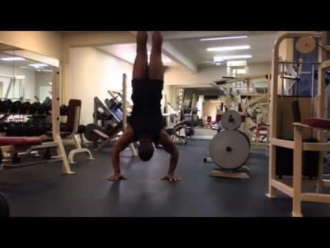 Handstand push up world record for 50 year old