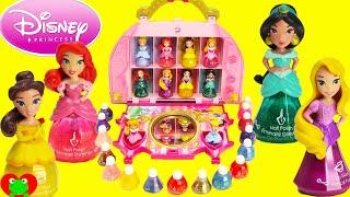 getlinkyoutube.com-Disney Princess Little Kingdom Cosmetic Castle Vanity Makeup Set