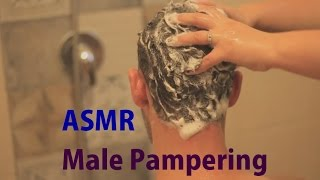 ASMR Male Grooming | Machine Shaving | Hair Cut | shampooing | Neck Massage