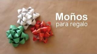getlinkyoutube.com-Como hacer un moño para regalo // DIY Gift bows