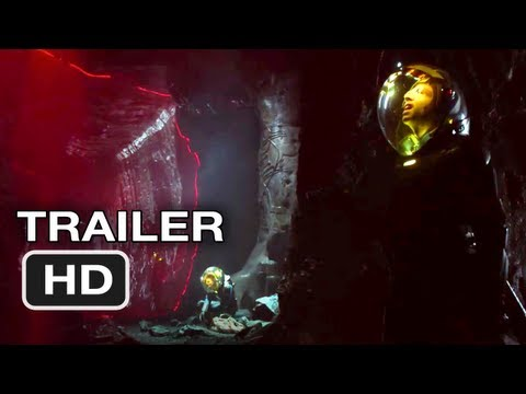 Prometheus - Official UK International Trailer 2 - Ridley Scott Alien movie (2012)