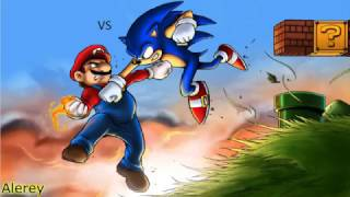 getlinkyoutube.com-Mario Vs Sonic / EPIC DEATH BATTLE!
