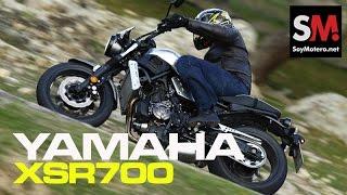 getlinkyoutube.com-Yamaha XSR700 2016: Prueba Neo retro