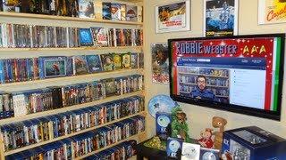 getlinkyoutube.com-NERD CAVE Tour 2013!! - My Media Room