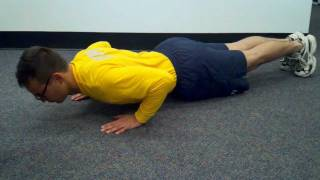 Proper Form for Navy Pushups and Curl-ups