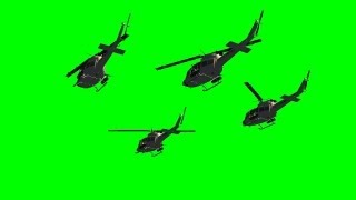 getlinkyoutube.com-helicopter flyby in formation - green screen