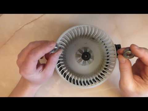 Ремонт моторчика печки ПРАДО 120 (замена подшипников)