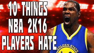getlinkyoutube.com-10 Things NBA 2K16 Players HATE