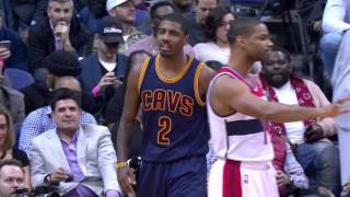 getlinkyoutube.com-LeBron James and Kyrie Irving Go Off on the Wizards