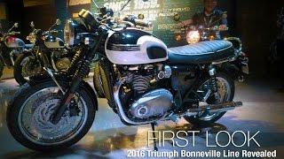 getlinkyoutube.com-2016 Triumph Bonneville Line Revealed - MotoUSA
