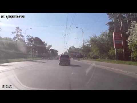 Авария Lada Granta Honda CRV Fiat Pontiac Vibe