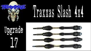 getlinkyoutube.com-Grim - Traxxas Slash 4x4 - Level 17 Upgrade - CVDs