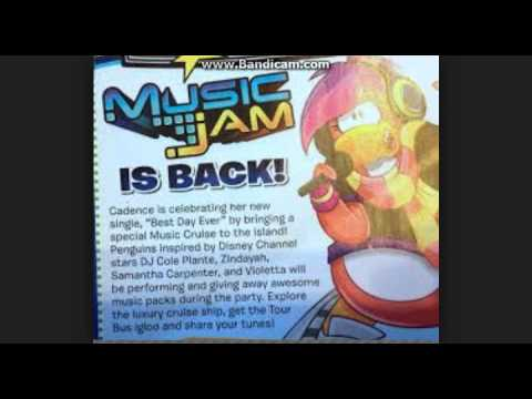 Club Penguin Adelanto Fotos Music Jam 2014
