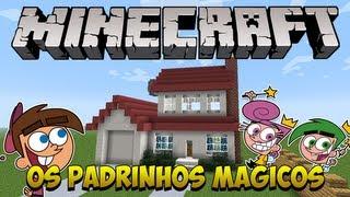 getlinkyoutube.com-Minecraft: Construindo a casa dos Padrinhos Mágicos