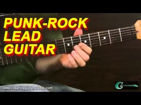GUITAR STYLES: Punk Rock Lead Guitar Concepts