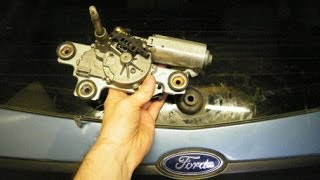 getlinkyoutube.com-Ford Focus Rear Wiper Blade Motor Replacement