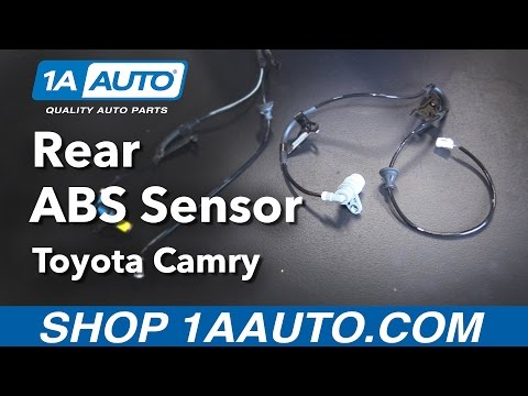 How to Replace Rear Wheel ABS Speed Sensor 92-96 Toyota Camry