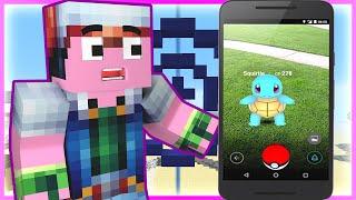 getlinkyoutube.com-Minecraft : Spongebob Episode 17 - EPIC POKEMON GO BATTLE (Minecraft Roleplay)