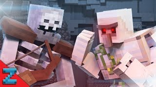 getlinkyoutube.com-Mutant Skeleton vs. Iron Golem (Minecraft Animation)