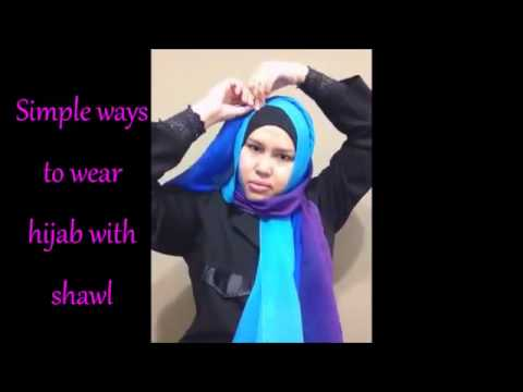 Beautiful woman in Hijab, Muslimah ladies in Hijab