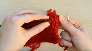 getlinkyoutube.com-أساسيات التريكو - 014 - قطبة كيتشينر \ Kitchener stitch