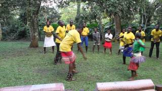 African Tooro Traditional dance