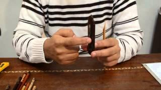 getlinkyoutube.com-طريقة قط قلم البوص للكتابة - عبد الغني شعير