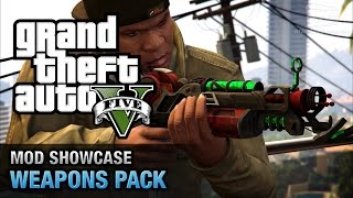 getlinkyoutube.com-GTA 5 PC - Weapons Pack  [Mod Showcase]