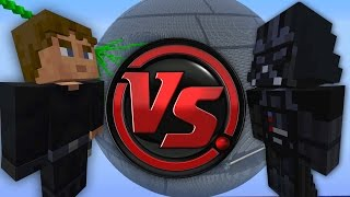 getlinkyoutube.com-Minecraft Xbox - PVP Star Wars Luke Skywalker VS Darth Vader