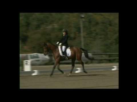 Ripresa di Dressage E 200 di Laura Antonelli ai Campionati Regionali Liguri