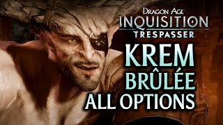 getlinkyoutube.com-Dragon Age: Inquisition - Trespasser DLC - Iron Bull is great at foreplay (all options incl romance)