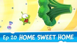 getlinkyoutube.com-Om Nom Stories: Home Sweet Home (Episode 20, Cut the Rope: Time Travel)