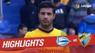 getlinkyoutube.com-Resumen de Deportivo Alavés vs Málaga CF (1-1)