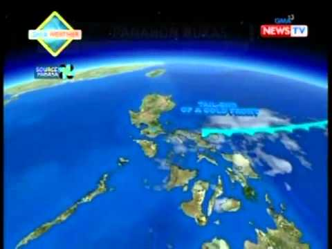 BP: GMA weather update as of 9:40 p.m. (Dec. 7, 2013)