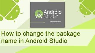 getlinkyoutube.com-Android studio change package name