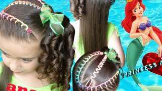 getlinkyoutube.com-Peinados Infantiles Princess Magic