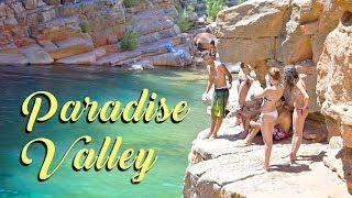 getlinkyoutube.com-Cliff Jumping, Paradise Valley, Agadir, Morocco