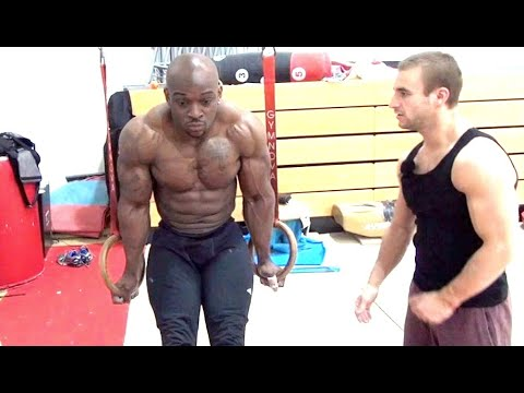 CAN A BODYBUILDER BE A GYMNAST? (Part 2 of 2)