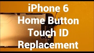 getlinkyoutube.com-iPhone 6 Home Button Touch ID Replacement How To Change