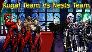 getlinkyoutube.com-[KOF Mugen] Rugal Team vs Nests Team (루갈 팀 vs 네스츠 팀)