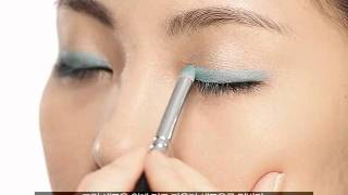 getlinkyoutube.com-둥글린 아이라인 포인트 메이크업_Round Eyeline Point Makeup