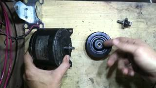 Electric Bike Friction Drive Motor. Part 1