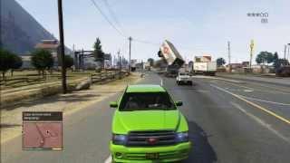 getlinkyoutube.com-FUN GTA 5 GAMEPLAY WITH PICKUP AND POLICE DESERT