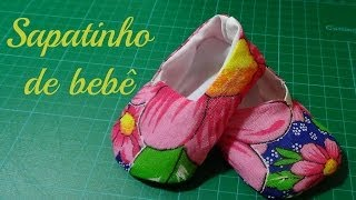 getlinkyoutube.com-Sapatinho de bebê