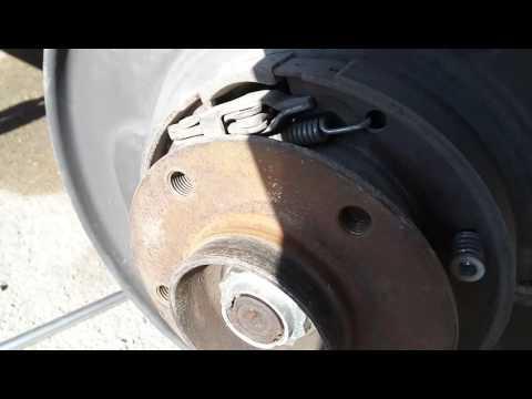 Стук механизма ручника BMW E38, E39, E34, E36